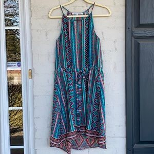Collective Concepts tribal print racer back dress